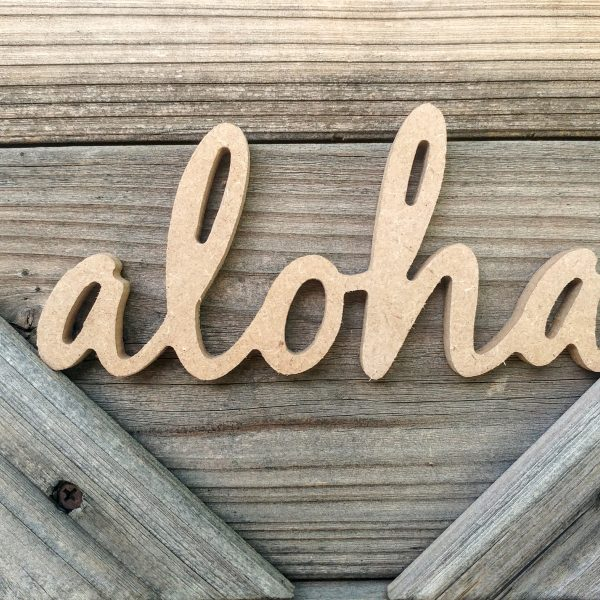 Mini Wooden Word