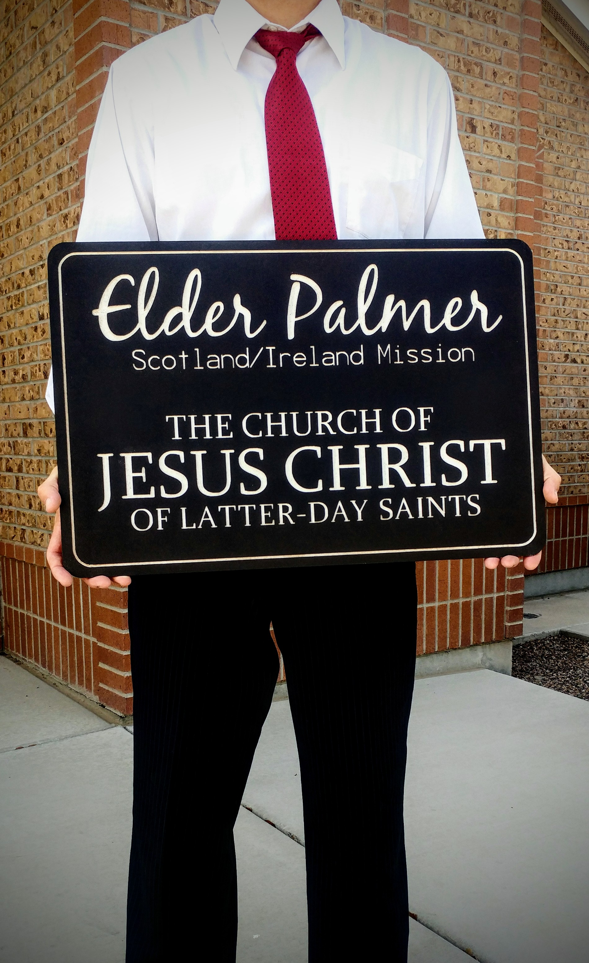 graphic about Lds Missionary Name Tag Printable identify Huge Engraved Missionary Reputation Tags