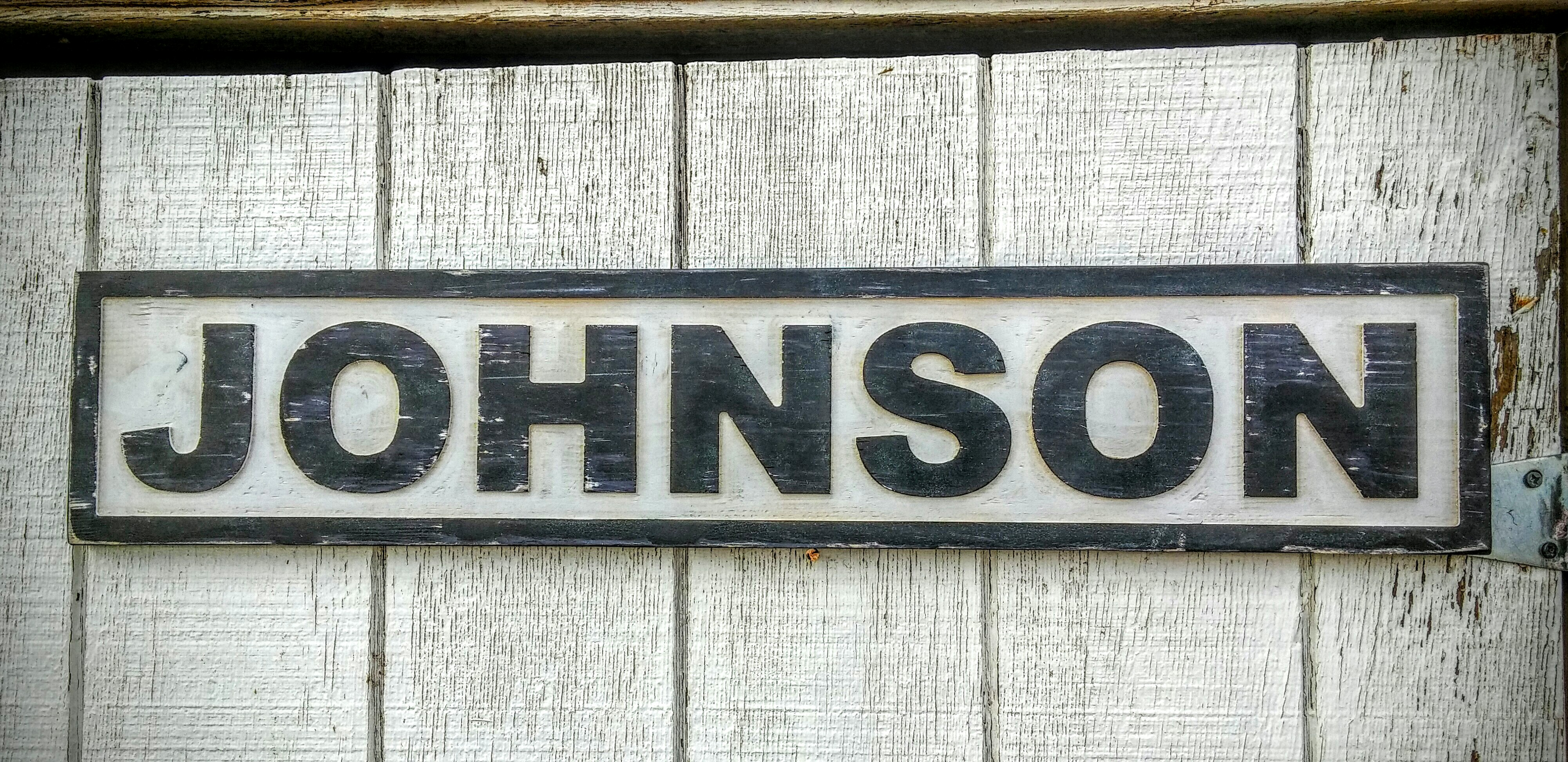 3D Engraved Wood Name Signs - Freckle Barn