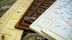 3d engraved name sign color examples